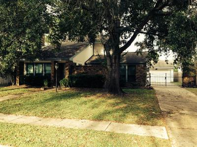 Single Family Home For Sale: 15814 Maple Manor Drive