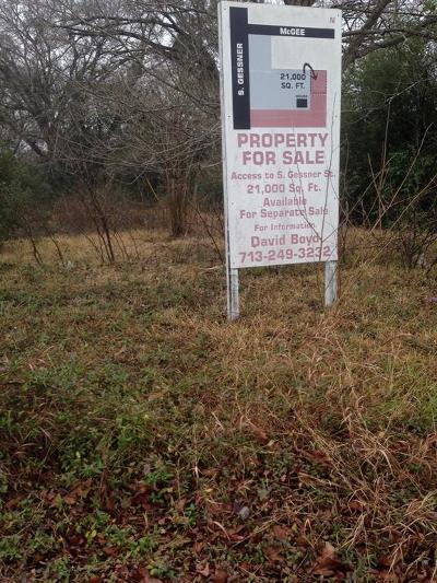 Houston Residential Lots & Land For Sale: 11639 S Gessner