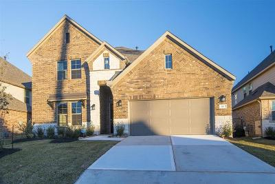 Tomball Single Family Home For Sale: 83 Wyatt Oaks