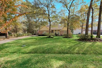 Conroe Single Family Home For Sale: 2310 Hollowbrook Lane