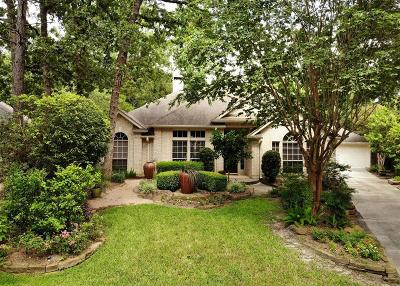 Indian Springs, Woodlands Village Indian Springs Single Family Home For Sale: 2 Taper Glow Place