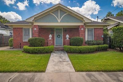 Houston Single Family Home For Sale: 932 Ridge Street