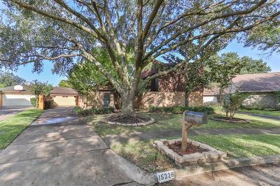 Harris County Single Family Home For Sale: 15326 La Mancha Drive