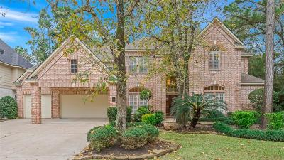 The Woodlands Single Family Home For Sale: 2 E Lakemist Circle