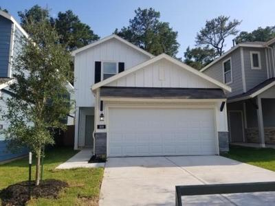 Conroe Single Family Home For Sale: 125 Camelot Place Court