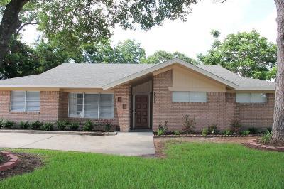 Houston Single Family Home For Sale: 5566 Beechnut Street