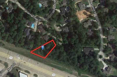 Conroe Residential Lots & Land For Sale: 161 Springs Edge Drive