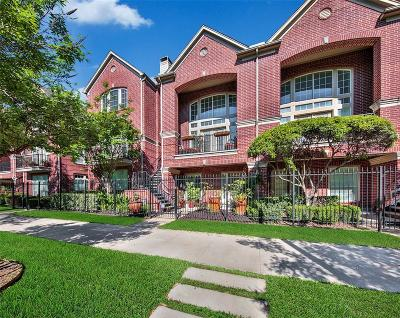 Houston Condo/Townhouse For Sale: 2506 Bagby Street