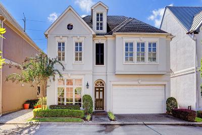 Houston TX Single Family Home For Sale: $538,888