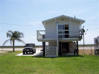 Matagorda Single Family Home For Sale: 4126 E Fm 2031 Beach Road