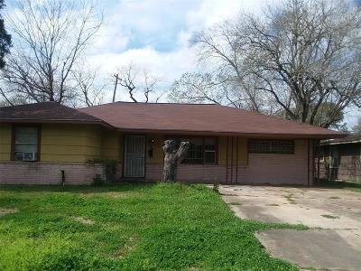 Houston Single Family Home For Sale: 8030 Sharondale Drive