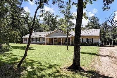 Bellville Farm & Ranch For Sale: 502 Oak Forest Road