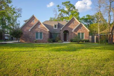 Magnolia Single Family Home For Sale: 7410 Nickaburr Creek Drive