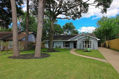 Houston Single Family Home For Sale: 7206 Bayou Woods Drive