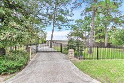 Houston Single Family Home For Sale: 12826 Shiloh Church Road