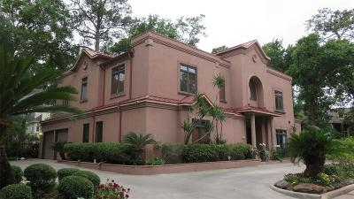 Houston Single Family Home For Sale: 11 W Shady Lane #A