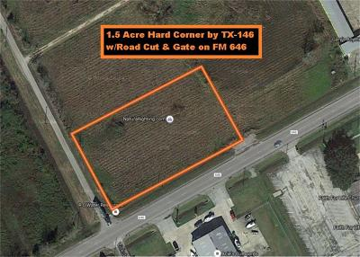 Dickinson Residential Lots & Land For Sale: 00 Fm 646 And Vicksburg