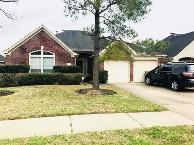 Manvel Single Family Home For Sale: 3219 Summerland Drive