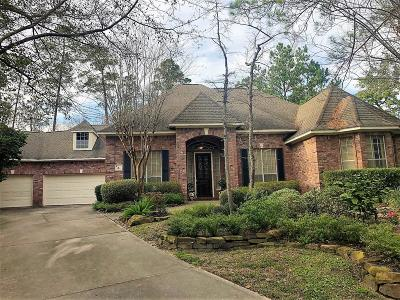 The Woodlands Single Family Home For Sale: 4 Flagstone Path