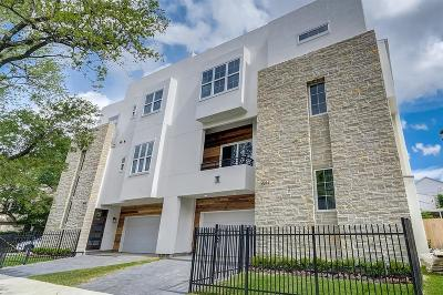 Houston Condo/Townhouse For Sale: 2012 Indiana Street
