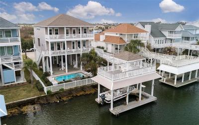 Galveston Single Family Home For Sale: 3615 Cove Lane
