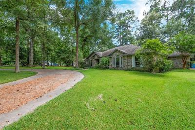 Montgomery Single Family Home For Sale: 21025 Huckleberry Lane