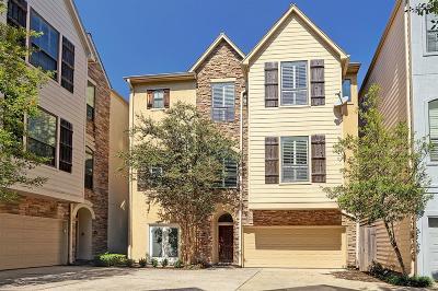 Houston TX Condo/Townhouse For Sale: $396,000
