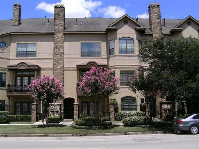 Houston Condo/Townhouse For Sale: 2405 Commonwealth Street