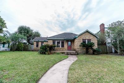 Galveston Single Family Home For Sale: 4311 Sherman Boulevard
