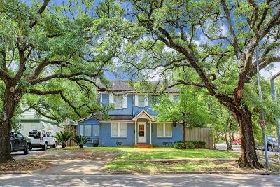 Houston Single Family Home For Sale: 2265 University Boulevard