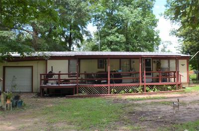 San Jacinto County Single Family Home For Sale: 30 Davey Lane