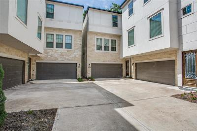 Houston Single Family Home For Sale: 5311 Kiam Street #C