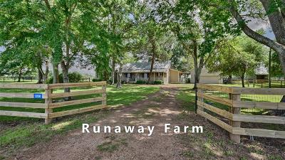Austin County Country Home/Acreage For Sale: 2230 Peters San Felipe Road