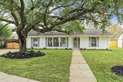 Houston Single Family Home For Sale: 7806 Wickersham Lane