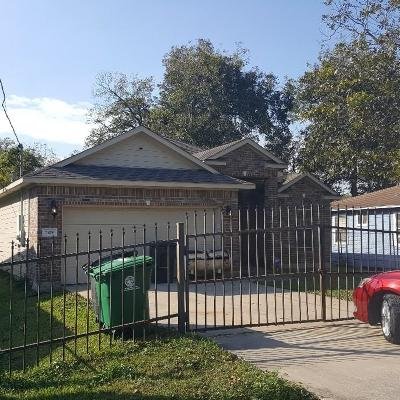 Houston Single Family Home For Sale: 7109 Sayers Street