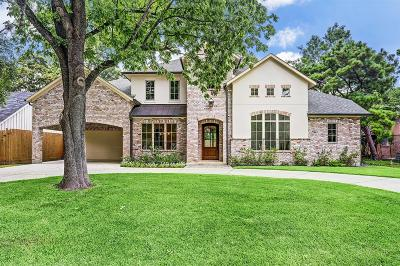 Houston Single Family Home For Sale: 13026 Memorial Drive