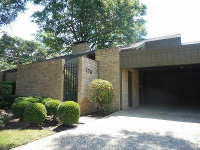 Houston Single Family Home For Sale: 178 Old Bridge Lake
