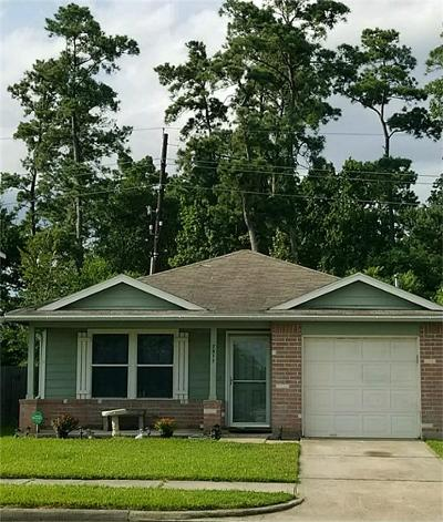 Humble Single Family Home For Sale: 7511 Kennemer Drive