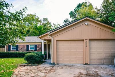 Houston Single Family Home For Sale: 6813 Roos Road