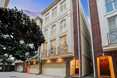 Houston Condo/Townhouse For Sale: 2518 South Boulevard