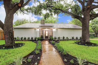 Briargrove Park Single Family Home For Sale: 10002 Locke Lane