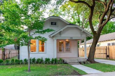 Houston Single Family Home For Sale: 1135 Jerome Street
