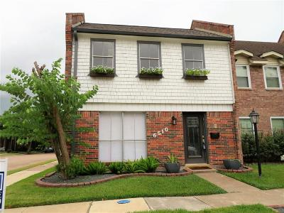Bellaire Condo/Townhouse For Sale: 6510 Gambier Lane