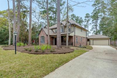 The Woodlands Single Family Home For Sale: 163 N Mill Trace Drive