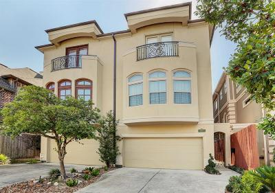 Houston Condo/Townhouse For Sale: 2010 Driscoll Street