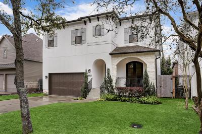 Bellaire Single Family Home Option Pending: 4415 Jonathan Street
