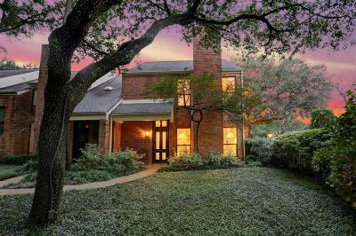 Houston Condo/Townhouse For Sale: 2901 Bammel Lane #56