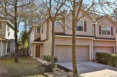 The Woodlands Condo/Townhouse For Sale: 201 E Summerhaze Circle
