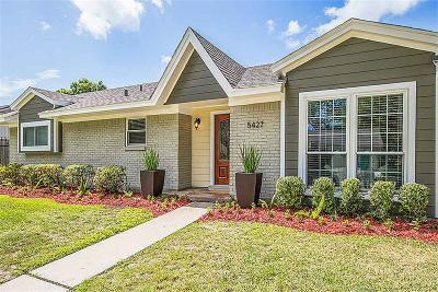 Houston Single Family Home For Sale: 5427 Hialeah Drive