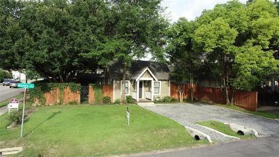 Houston Single Family Home For Sale: 1046 Waverly Street